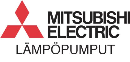 Mitsubishi Electric lämpöpumput logo