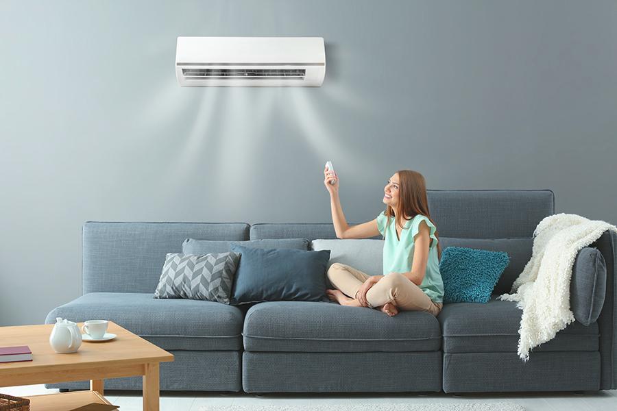 lämmitys ja viilennys ilmalämpöpumpulla