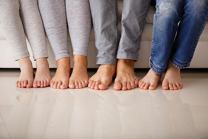 lattialämmitys on asumismukavuutta